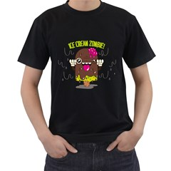 I Scream     Mens' Two Sided T Shirt (black)