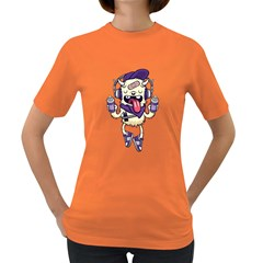Stylish Monster  Womens' T-shirt (Colored) by Contest1741741