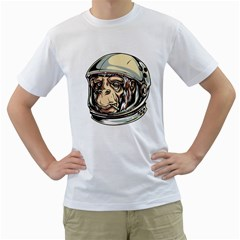 Spacemonkey Mens  T Shirt (white) by Contest1814230