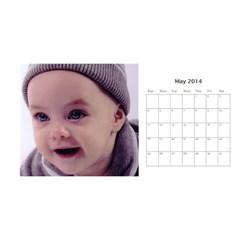 Miri Calender By Suri   Desktop Calendar 11  X 5    100r0938rj12   Www Artscow Com May 2014
