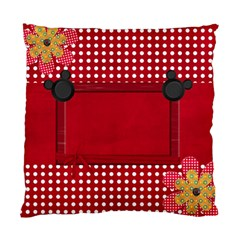 Minnie Pillow By Cherish Collages   Standard Cushion Case (two Sides)   Wplv0ln7iatc   Www Artscow Com Front