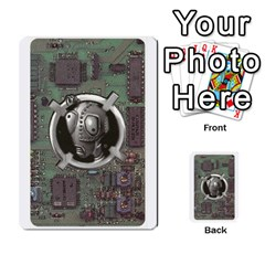 Roborally Options By Steve   Playing Cards 54 Designs   8rrza3x47itw   Www Artscow Com Back