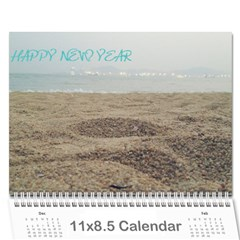 1 15 By Zhansey   Wall Calendar 11  X 8 5  (18 Months)   Iopzvru14o7q   Www Artscow Com Cover