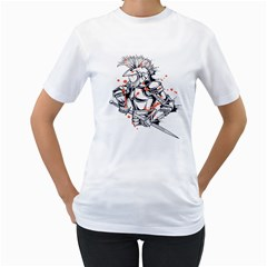Captain ! Womens  T Shirt (white) by Contest1840973