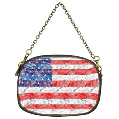 Flag Chain Purse (One Side) by uniquedesignsbycassie