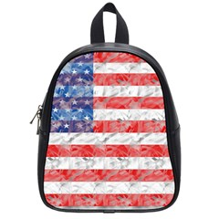 Flag School Bag (small) by uniquedesignsbycassie