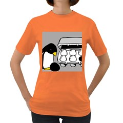 Egg Box Linux Womens' T Shirt (colored) by youshidesign