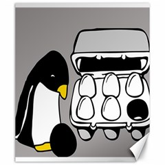 Egg Box Linux Canvas 20  X 24  (unframed) by youshidesign