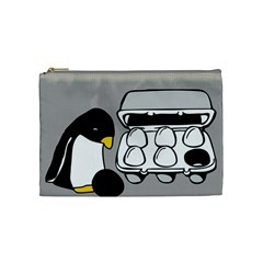 Egg Box Linux Cosmetic Bag (medium) by youshidesign