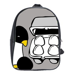 Egg Box Linux School Bag (large)