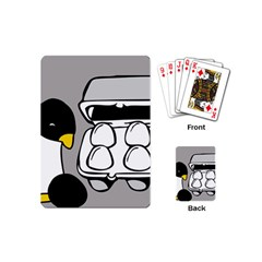 Egg Box Linux Playing Cards (Mini) by youshidesign