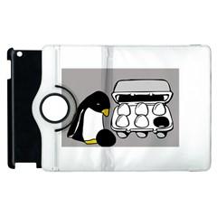 Egg Box Linux Apple Ipad 2 Flip 360 Case by youshidesign