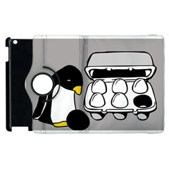 Egg Box Linux Apple Ipad 3/4 Flip 360 Case by youshidesign