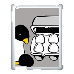 Egg Box Linux Apple Ipad 3/4 Case (white) by youshidesign