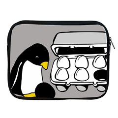 Egg Box Linux Apple Ipad Zippered Sleeve by youshidesign