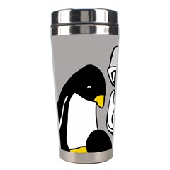 Egg Box Linux Stainless Steel Travel Tumbler by youshidesign