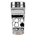 Egg Box Linux Stainless Steel Travel Tumbler Right