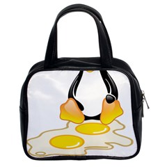 Linux Tux Penguin Birth Classic Handbag (two Sides) by youshidesign