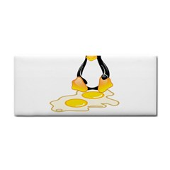 Linux Tux Penguin Birth Hand Towel by youshidesign