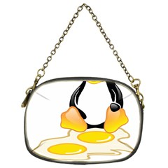 Linux Tux Penguin Birth Chain Purse (one Side)