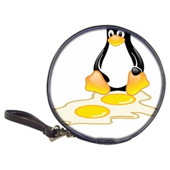 Linux Tux Penguin Birth Cd Wallet by youshidesign