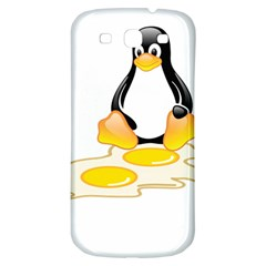 Linux Tux Penguin Birth Samsung Galaxy S3 S Iii Classic Hardshell Back Case by youshidesign