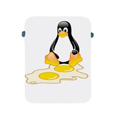 Linux Tux Penguin Birth Apple Ipad Protective Sleeve by youshidesign