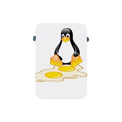 Linux Tux Penguin Birth Apple Ipad Mini Protective Sleeve by youshidesign