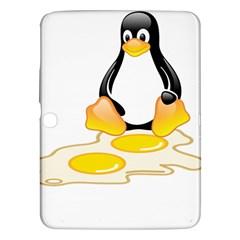 Linux Tux Penguin Birth Samsung Galaxy Tab 3 (10 1 ) P5200 Hardshell Case  by youshidesign