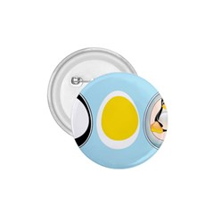 Linux Tux Penguin In The Egg 1 75  Button by youshidesign