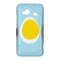 LINUX TUX PENGUIN IN THE EGG HTC Droid Incredible 4G LTE Hardshell Case by youshidesign