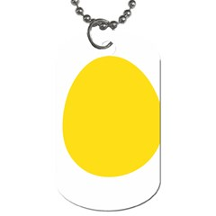 Linux Tux Penguin In The Egg Dog Tag (one Sided)
