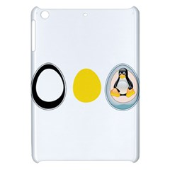 Linux Tux Penguin In The Egg Apple Ipad Mini Hardshell Case by youshidesign
