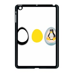 Linux Tux Penguin In The Egg Apple Ipad Mini Case (black) by youshidesign