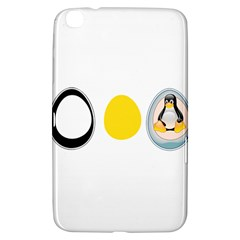 Linux Tux Penguin In The Egg Samsung Galaxy Tab 3 (8 ) T3100 Hardshell Case  by youshidesign