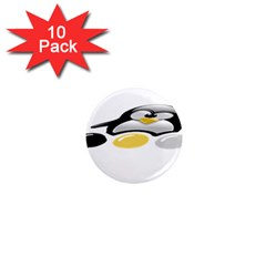 Linux Tux Pengion And Eggs 1  Mini Button Magnet (10 Pack) by youshidesign