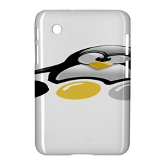 Linux Tux Pengion And Eggs Samsung Galaxy Tab 2 (7 ) P3100 Hardshell Case