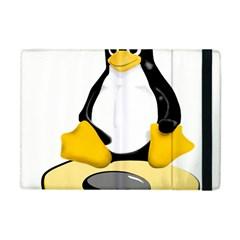 Linux Black Side Up Egg Apple Ipad Mini Flip Case by youshidesign