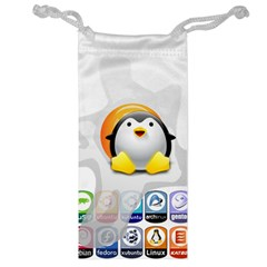 Linux Versions Jewelry Bag by youshidesign