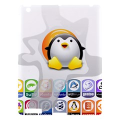 Linux Versions Apple Ipad 3/4 Hardshell Case by youshidesign