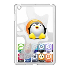Linux Versions Apple Ipad Mini Case (white) by youshidesign