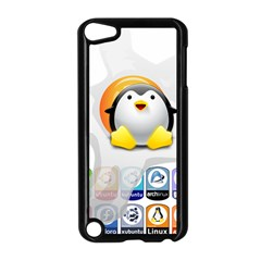 Linux Versions Apple Ipod Touch 5 Case (black) by youshidesign