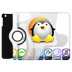 Linux Versions Apple Ipad Mini Flip 360 Case by youshidesign