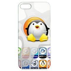 Linux Versions Apple Iphone 5 Hardshell Case With Stand by youshidesign