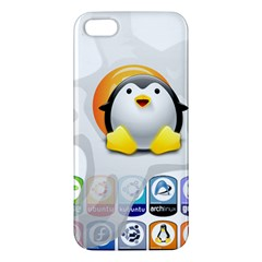 Linux Versions Iphone 5 Premium Hardshell Case by youshidesign