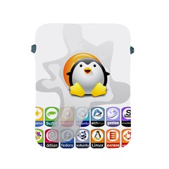 Linux Versions Apple Ipad Protective Sleeve by youshidesign