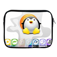 Linux Versions Apple Ipad Zippered Sleeve by youshidesign