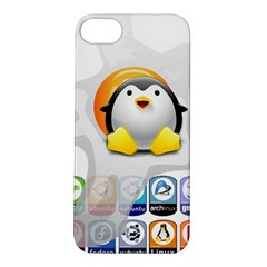 Linux Versions Apple Iphone 5s Hardshell Case by youshidesign
