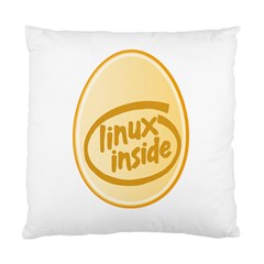 Linux Inside Egg Cushion Case (single Sided)