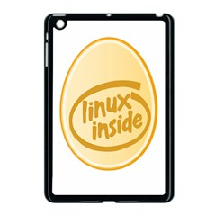 Linux Inside Egg Apple Ipad Mini Case (black) by youshidesign